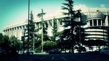 Estadio Santiago Bernabeu Madrid 20 stylized Footage