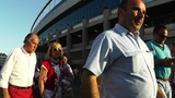 Estadio Vicente Calderon before match Copa Del Rey Final 2012 02 Footage