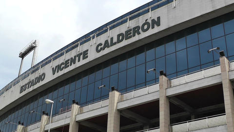 Estadio Vicente Calderon Madrid 08 Stock Video Footage