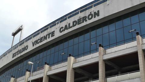 Estadio Vicente Calderon Madrid 08 Stock Video Footage