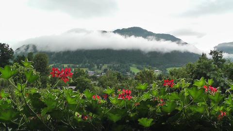 European Alps Austria 09 Stock Video Footage