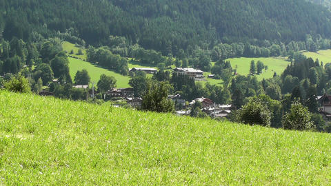European Alps Austria 13 Stock Video Footage