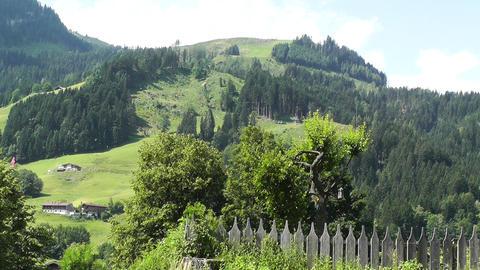 European Alps Austria 15 Stock Video Footage