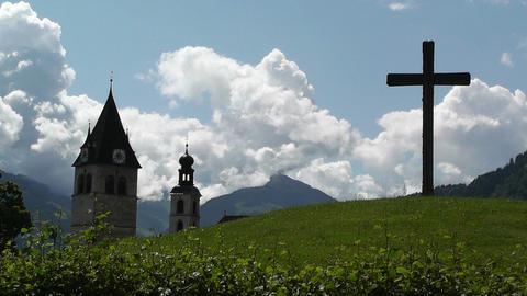 European Alps Austria 17 Stock Video Footage