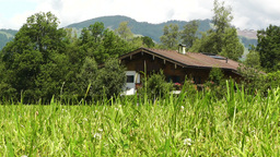 European Alps Austria 19 house Footage