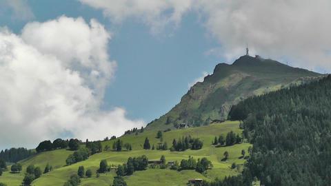 European Alps Austria 25 Stock Video Footage