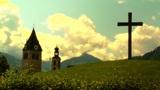 European Alps Austria 33 stylized Footage