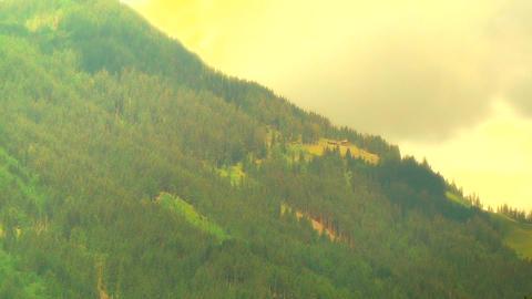 European Alps Austria 37 stylized Stock Video Footage