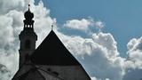 European Alps Austria Clouds Timelapse 02 Footage