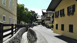 European Alps Town in Austria 03 Stock Video Footage