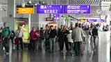 Frankfurt Airport Germany 02 Footage
