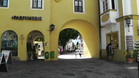 Kitzbuhel Austria 02 Stock Video Footage