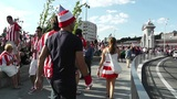 Madrid before Copa del Rey Final 2012 Athletic Bilbao Fans 08 Footage