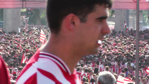 Madrid before Copa del Rey Final 2012 Athletic Bilbao Fans 10 Footage
