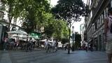 Madrid Calle De La Montera 01 Footage