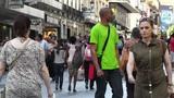 Madrid Spain Calle De Preciados 02 Footage