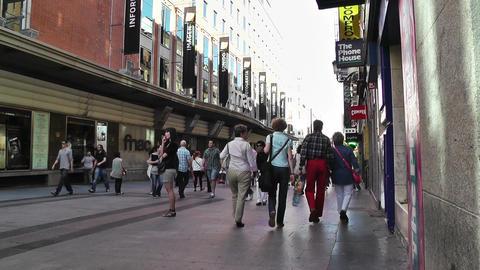 Madrid Spain Calle De Preciados 04 Stock Video Footage