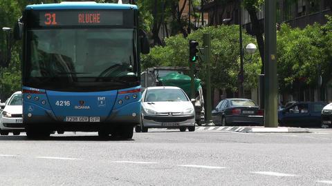 Madrid Calle De Segovia 02 Stock Video Footage
