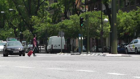 Madrid Calle De Segovia 02 Footage