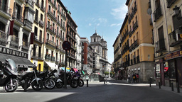 Madrid Downtown 03 Stock Video Footage