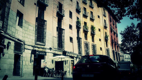 Madrid Downtown 05 stylized Footage