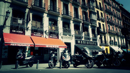 Madrid Downtown 07 stylized Footage