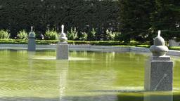 Madrid Jardines De Sabatini 01 Footage