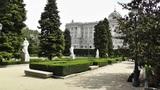 Madrid Jardines De Sabatini 03 Footage