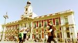 Madrid Plaza De La Puerta Del Sol 04 stylized Footage