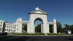 Madrid Puerta De San Vicente 02 Footage