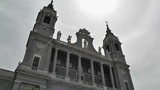 Madrid Santa Maria Almudena 03 lowangle Footage