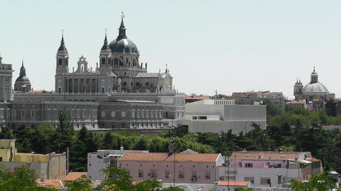 Madrid Santa Maria Almudena 06 Stock Video Footage