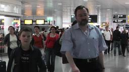 Munich Airport 04 Stock Video Footage