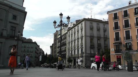 Opera Metro Station Madrid 01 Footage