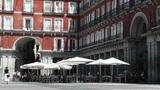 Plaza Mayor De Madrid 03 Footage