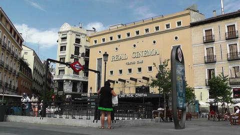 Real Cinema Madrid 01 Stock Video Footage