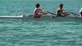 Rowing on Lake 01 Footage