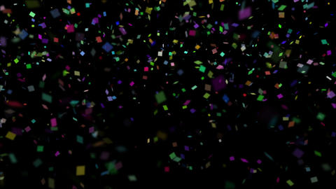 Confetti Falling Stock Video Footage