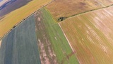 Flying over the Countryside, Bird's-eye Footage