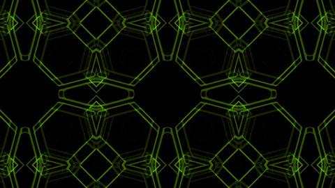 Kaleidoscope Hex 2 Ac 2 HD Stock Video Footage