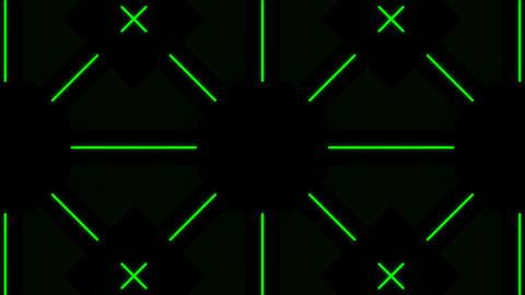 Kaleidoscope Hex 2 Ba 1 HD Stock Video Footage