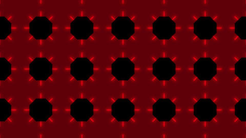 Kaleidoscope Hex 2 Bb 1 HD Stock Video Footage