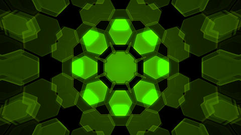 Kaleidoscope Hex 2 Ca 1 HD Stock Video Footage
