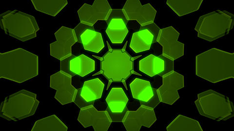 Kaleidoscope Hex 2 Ca 1 HD Animation