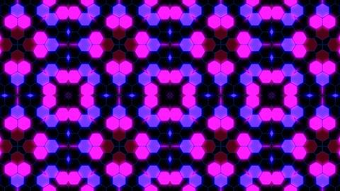 Kaleidoscope Hex 3 Aa 2 HD Stock Video Footage