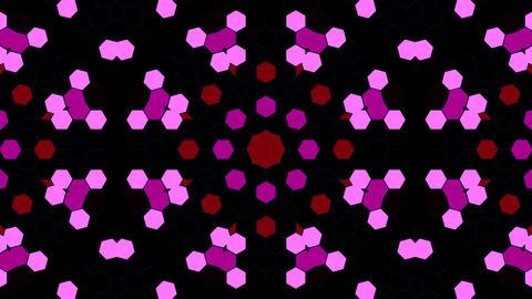 Kaleidoscope Hex 3 Aa 3 HD Stock Video Footage
