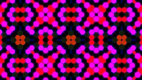 Kaleidoscope Hex 3 Ab 2 HD Stock Video Footage