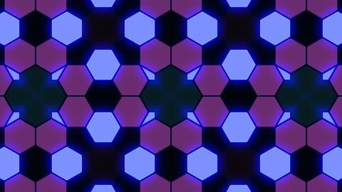 Kaleidoscope Hex 3 Ba 2 HD Stock Video Footage