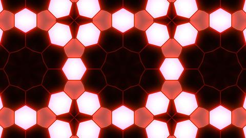 Kaleidoscope Hex 3 Ba 4 HD Stock Video Footage