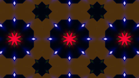 Kaleidoscope Hex 3 Bb 2 HD Stock Video Footage